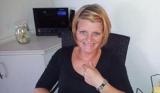 Her ses Marlene under sit behandlingsforløb, der strakte sig over flere måneder.
