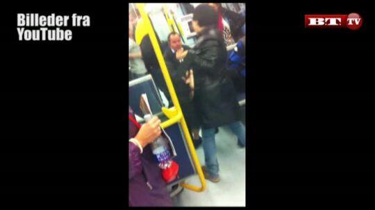 Her går pigerne amok i metroen