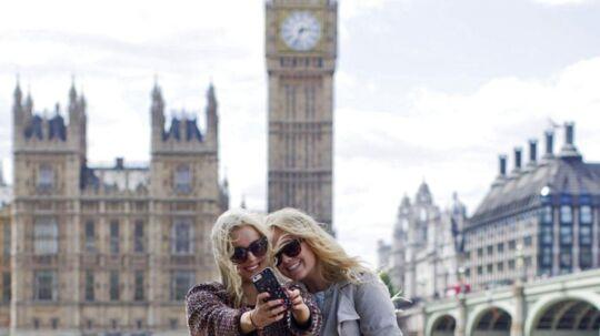 Udsigt til billige flybilletter og en billig miniferie i den britiske hovedstad.