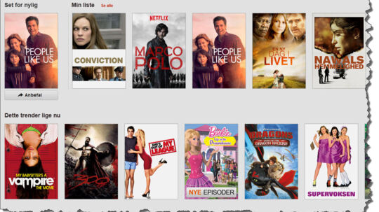 Det bliver snart umuligt at logge sig på den amerikanske version af Netflix.