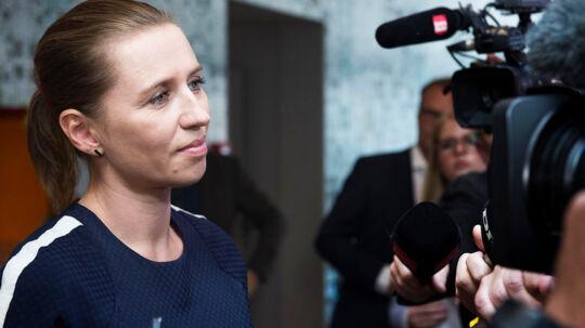 Mette Frederiksen vil fortsætte Helle Thorning-Schmidts linie som formand for Socialdemokraterne.