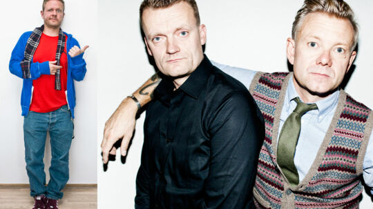 Anders 'Anden' Matthesen ligger i krig med Casper Christensen og Frank Hvam. Det sidste angreb står komiker-duoen for.
