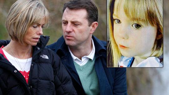 Forældrene til Madeleine var i lang tid mistænkt for selv at stå bag datterens forsvinden.