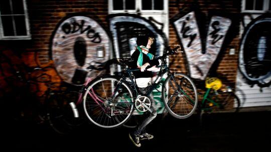 Antallet af opklarede cykeltyverier er siden 1995 faldet markant.