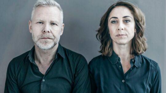 """Sofie Gråbøl skal spille sammen med Morten Kirkskov i Ingmar Bergmans ny-klassiker """"Scener fra et ægteskab"""", hvor replikkerne er byttet om. Så hun har de mandlige replikker og han har kvindens. (Foto: Det Kongelige Teater)."""