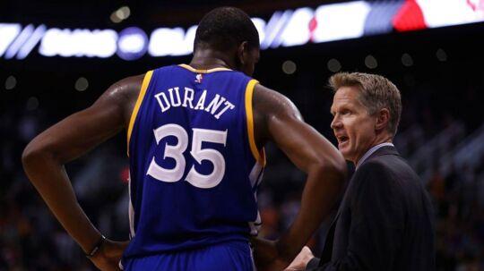 Gennem en årrække har Kevin Durant været en af de største stjerner i NBA.