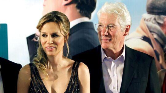 Richard Gere og Alejandra de Silva til premieren på hans nyeste film, 'Norman'.