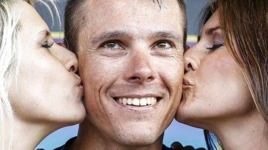 Philippe Gilbert vandt søndag Amstel Gold Race efter en tæt duel på målstregen mod Michal Kwiatkowski.