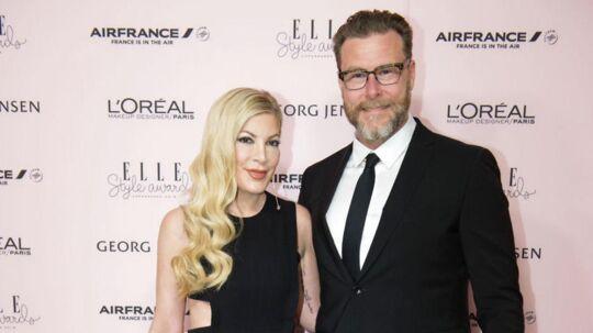 Tori Spelling med sin ægtemand Dean McDermott.