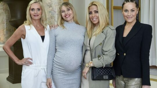 Janni, Gunnvør, Sarah Louise og Amalie