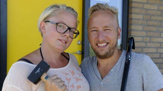 Anne og Simon Halskov vandt første sæson af Nybyggerne, nu fortæller de om bagsiden af medaljen. Foto: Henrik Hammel/TV 2