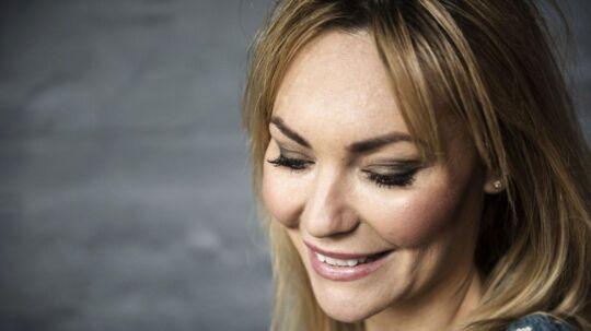 Mascha Vang er en af de fire kendisser i TV3's nye program 'Min fede træner', der skal tage på og tabe sig igen.