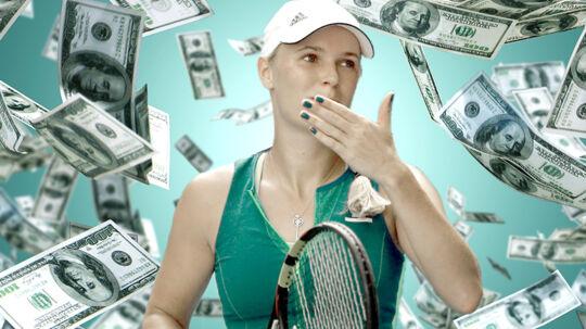 Caroline Wozniacki har tjent masser af penge i år.