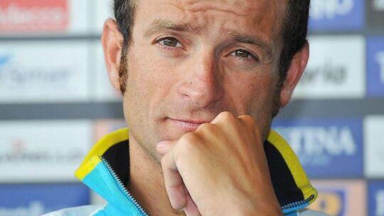 Michele Scarponi døde lørdag morgen på en træningstur.