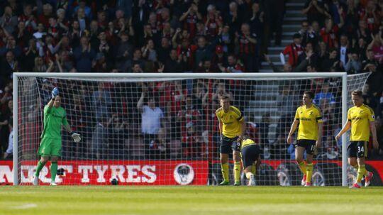 Middlesbrough tabte 0-4 ude mod Bournemouth og ligner en nedrykker.