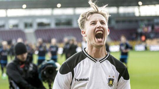 Frederik Rønnow havde mange flotte redninger, da Brøndby slog FCN 1-0.
