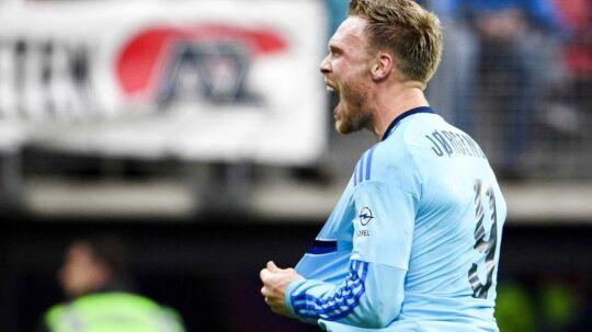 Giovanni van Bronckhorst glæder sig over at have sin danske topscorer, Nicolai Jørgensen, til rådighed efter skadespause.