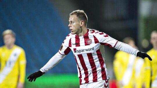Marco Meilinger er på bænken, når AaB i aften møder AGF i Superligaens kvalifikationsspil.