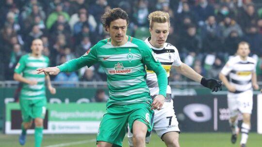 Thomas Delaney er klar til igen at tørne ud for Werder Bremen.