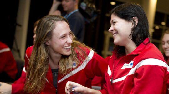 Rikke Møller Pedersen og Lotte Friis har altid været hinandens bedste selskab til de store turneringer.