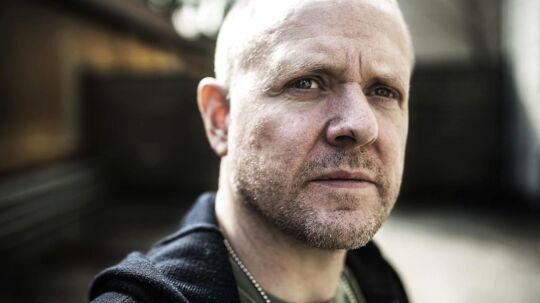 Den danske komiker Anders Matthesen fotograferet på Frederiksberg i forbindelse med dokumentarfilmen 'Den anden side'.