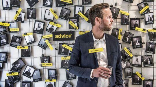 Direktør Espen Højlund i kommunikationsbureauet Advice