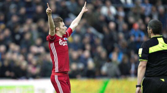 Jan Gregus sparkede FC København videre i pokalturneringen.