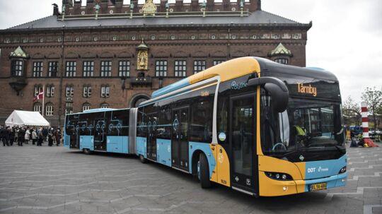 Fredag den 23. april blev den nye linje 5C indviet på Rådhuspladsen i København.