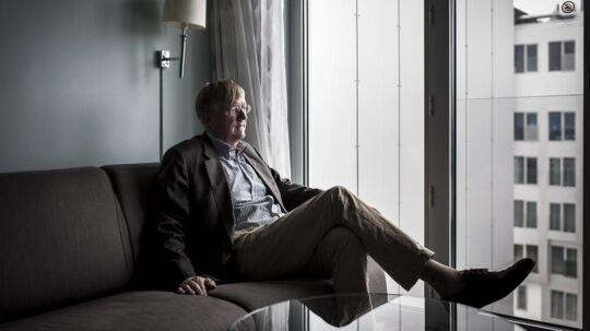 Portræt af Henning Arp-Hansen fra hotelkæden af samme navn.