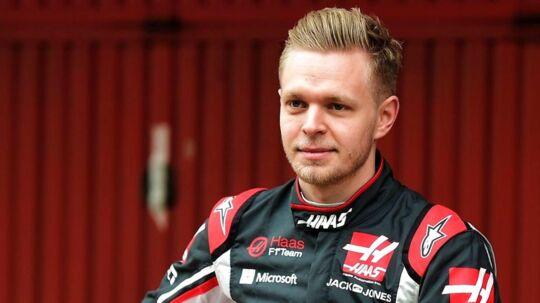 Kevin Magnussen skal fredag o Haas-raceren igen.
