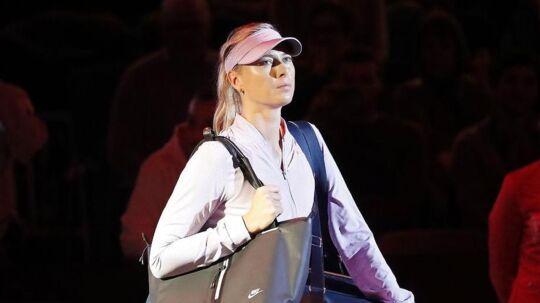 Maria Sharapova er i aktion igen.
