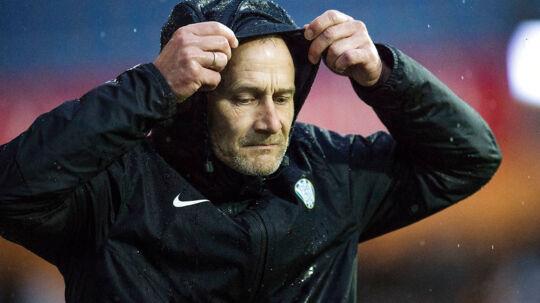 Esbjergs cheftræner Lars Lungi Sørensen. Randers FC vs. Esbjerg fB. Alka Superliga. Runde 31. BioNutria Park Randers. Foto: Bo Amstrup / Scanpix 2017