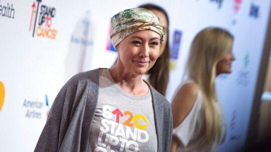 46-årige Shannen Doherty fik konstateret brystkræft i 2015. Her ses hun på den røde løber ved begivenheden Stand Up To Cancer den 9 september 2016 ved Walt Disney Concert Hall i Los Angeles, California.