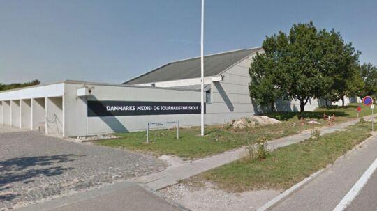 Omkring 1.000 tog i lørdags videntesten i forbindelse med optagelsesprøven på Danmarks Medie- og Journalisthøjskole.