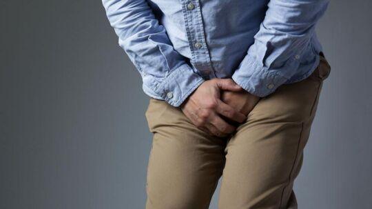 En britisk mands pinis og testikler sad fast i en metalring i flere dage, før han fik hjælp (ARKIVFOTO).