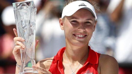Caroline Wozniacki jagter succes i Spanien.