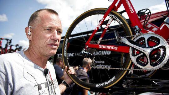 Treks danske sportsdirektør Kim Andersen (billedet) roser sin danske rytter Marc Pedersen til skyerne.