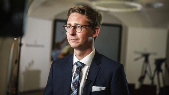 Skatteminister Karsten Lauritzen.