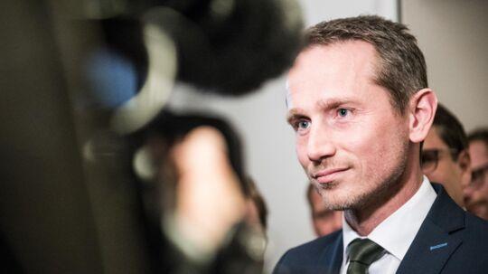 Finansminister Kristian Jensen er ikke sådan at ryste, mener politisk analytiker (Arkivfoto). Scanpix/Ida Marie Odgaard
