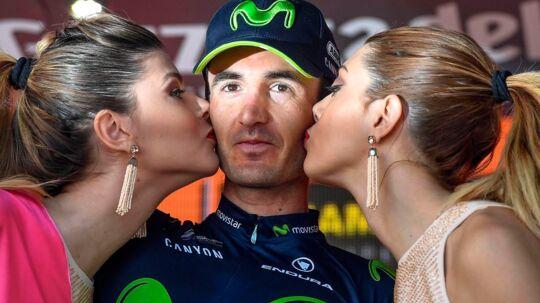 Baskeren Gorka Izagirre (Movistar) vandt lørdagens etape af Giro d'Italia i fornem stil.