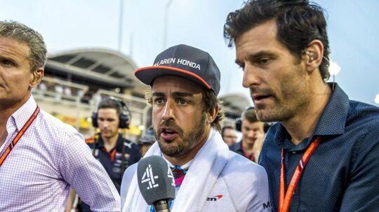 Fernando Alonso skal heller ikke køre i Monaco om 14 dage.