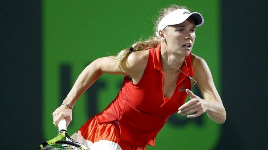 Caroline Wozniacki skal i aktion i næste uge i Strasbourg, inden det går løs med French Open i Paris.