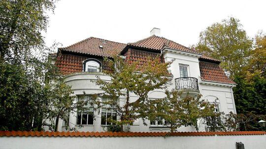 Villa i Ryvangskvarteret på Østerbro.
