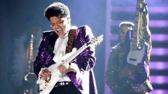 Bruno Mars gav en storslået koncert torsdag aften i Royal Arena. ARKIVFOTO.