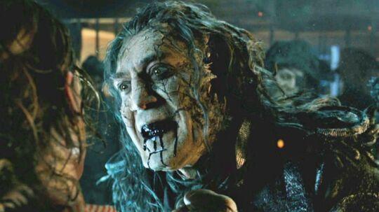Javier Bardem er svær at genkende i den nye 'Pirates of the Carribean'-film, 'Dead Men Tell No Tales'.