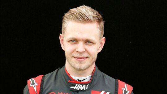 Kevin Magnussens bil får nye farver.