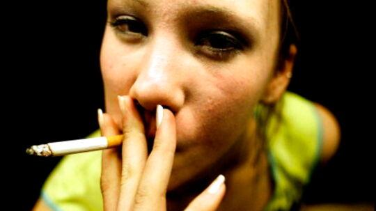 Efter at kurven i flere år har været faldende, er antallet af unge rygere igen stigende.