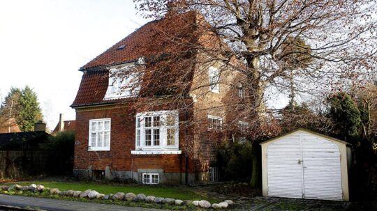 Villa på Drosselvej på Frederiksberg.