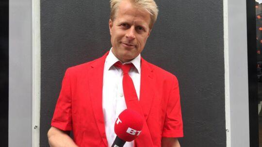 Aslak Gottlieb løb Copenhagen Marathon søndag.