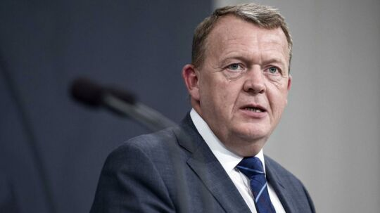 Statsminister Lars Løkke Rasmussen opgiver at hæve pensionsalderen yderligere. ARKIVFOTO.